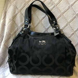 COACH black purse, GREAT condition!, Black